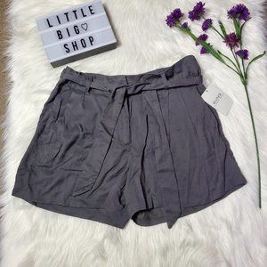 Alfred Sung Trouser Shorts/Gray/Size 10/NWT